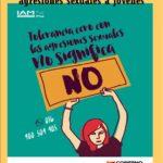 TALLER PARA LA PREVENCIÓN CONTRA LAS AGRESIONES SEXUALES A JÓVENES