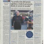 UN CORTADOR PROFESIONAL POBLANO, JURADO EN LA FERIA DEL JAMÓN
