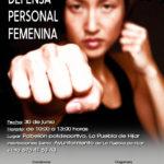 TALLER DEFENSA PERSONAL FEMENINO