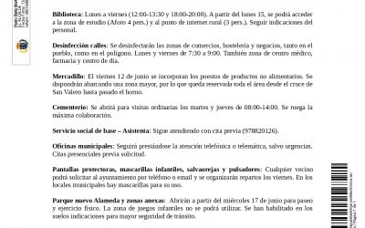 COMUNICADO MUNICIPAL 13 JUNIO 2020