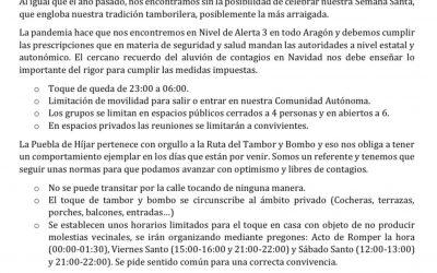 COMUNICADO SEMANA SANTA 2021