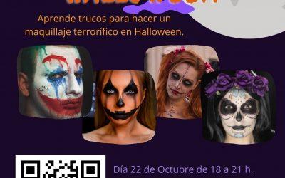 Taller de Maquillaje de Halloween Viernes 22 Octubre